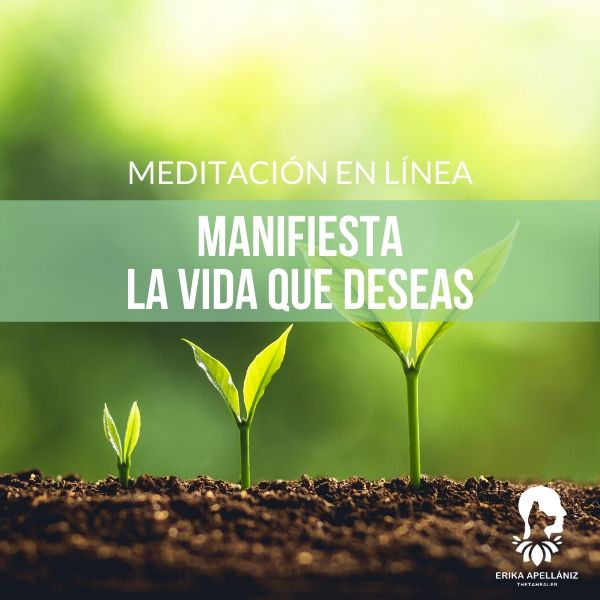 Meditación guiada en línea manifiesta la vida que deseas abril