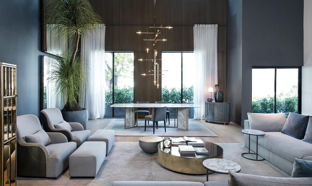 ITALIAN MODERN Meridiani Furniture Erika Brechtel