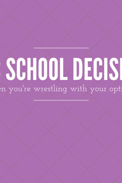 Epic School Decisions