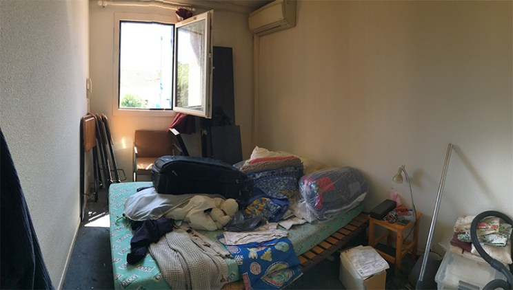 Vue chambre 1 - AVANT -