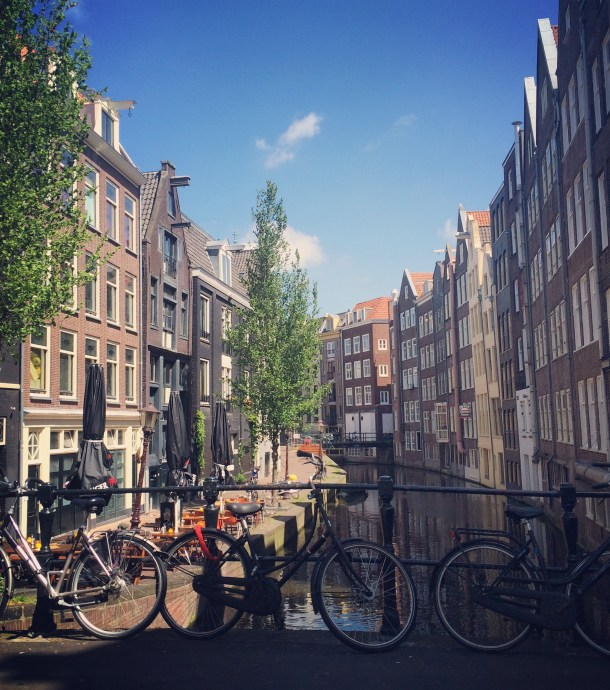 Solo Travels in Amsterdam