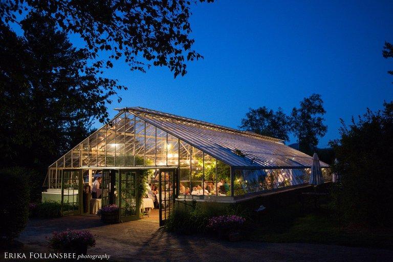 Italian Farmhouse Greenhouse Wedding Plymouth NH NH