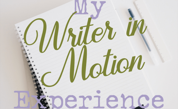 My writer in Motion Experience 2020