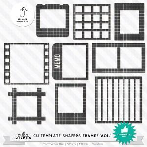 CU Template Shapers Frames Vol.1 | Designer Resources | Erika Guymon