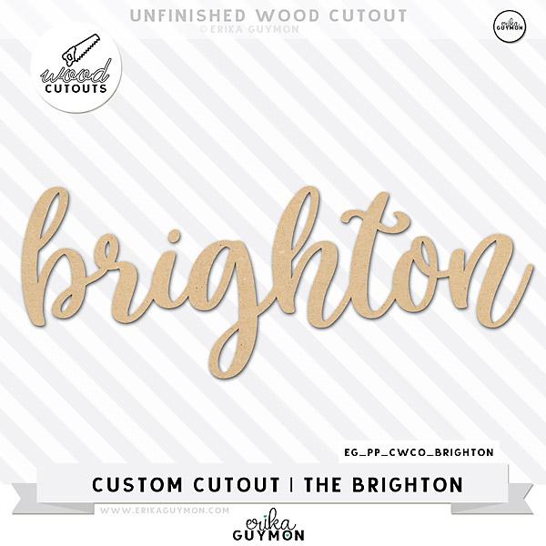 Custom Wood Cutout | The Brighton