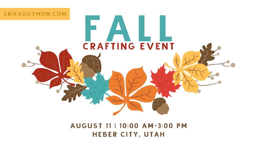 Fall Craft Day | DIY Decor Workshop