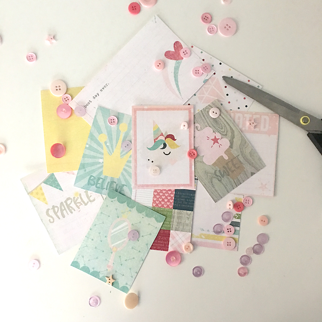 Digital Scrapbooking Journaling Cards