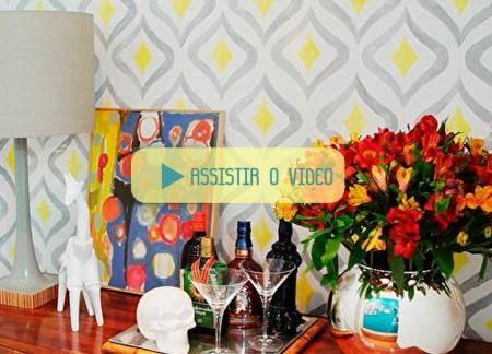 Vídeo Carimbo para parede Erika Karpuk