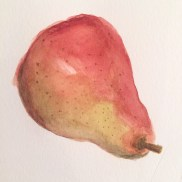 A pear for Aunt Selma