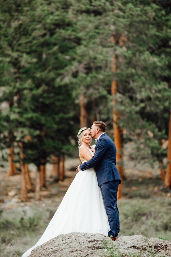 della terra mountain chateau summer wedding