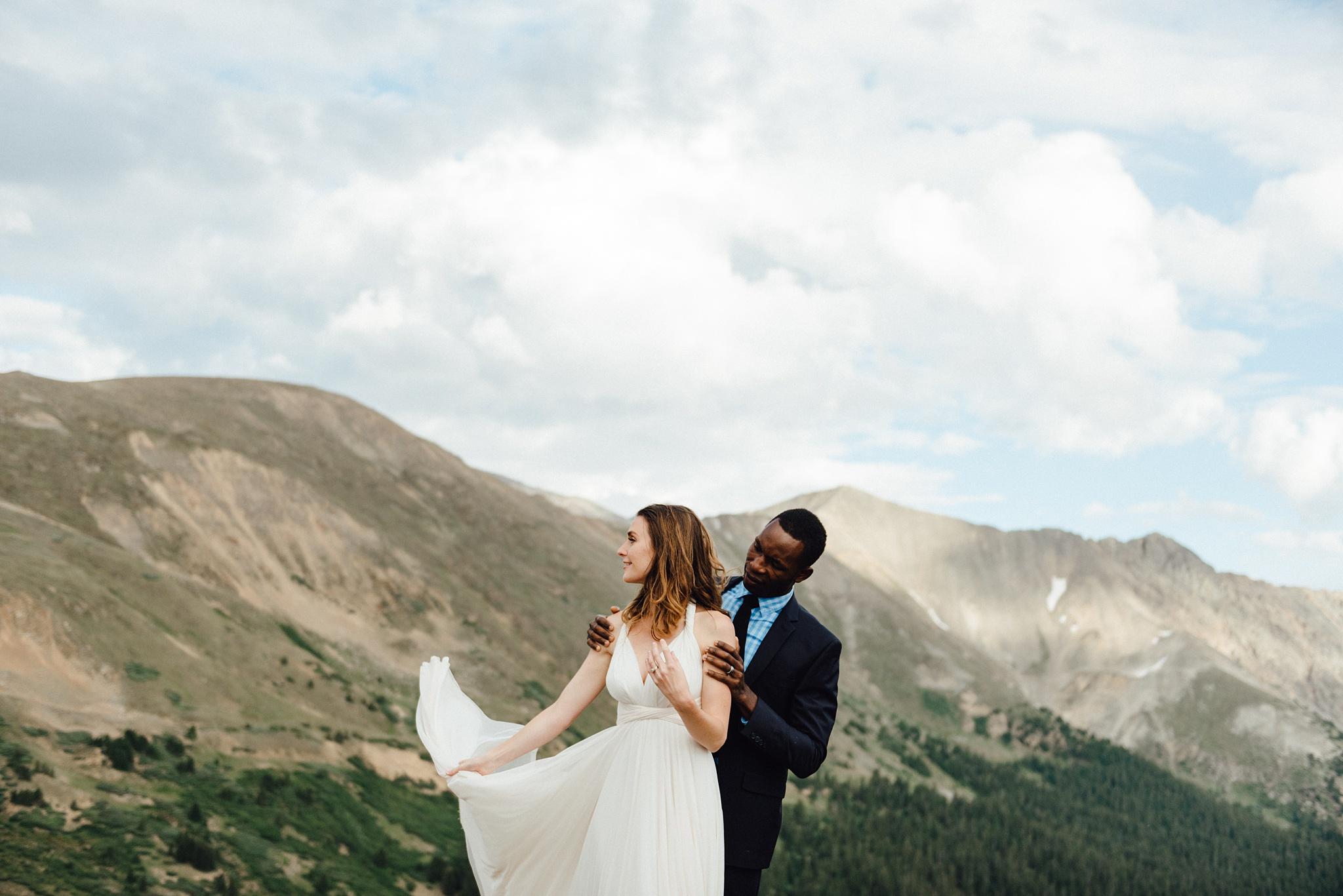 Rocky mountain national park wedding