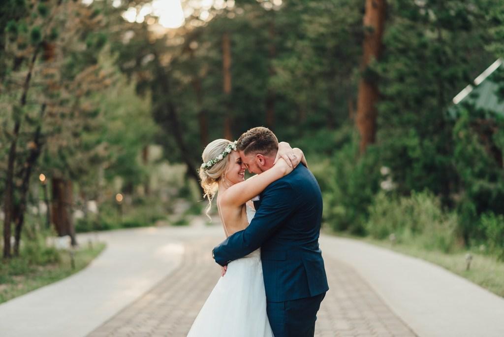 estes park wedding photos