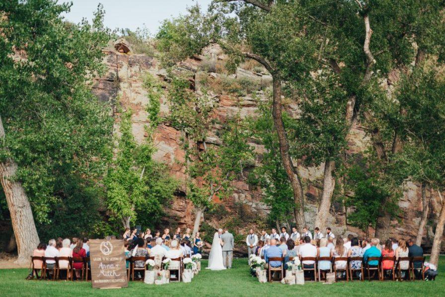 planet bluegrass wedding ceremony