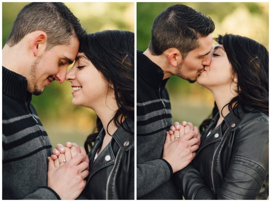Colorado engagement photographer, Colorado wedding photographer. Photos by Erika Overholt Photography.