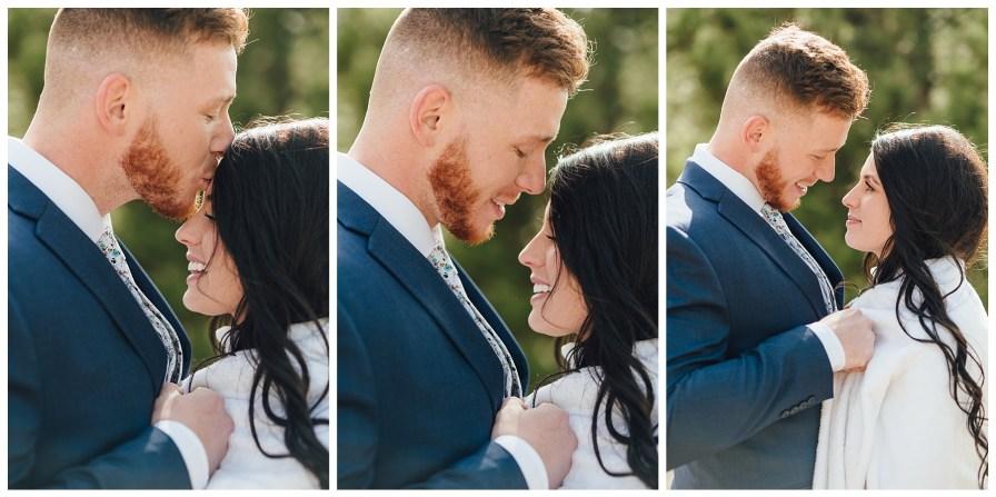 Fall wedding in Dillon, Colorado