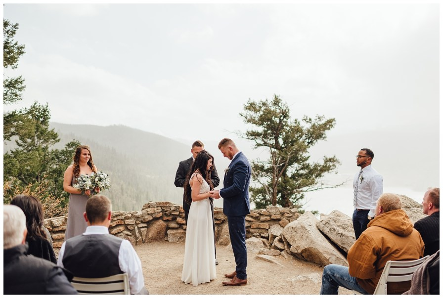 Elopement at Sapphire Point in Dillon, Colorado