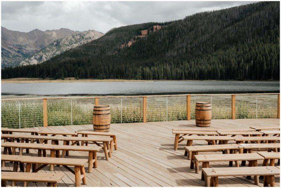 piney river ranch ceremony spot