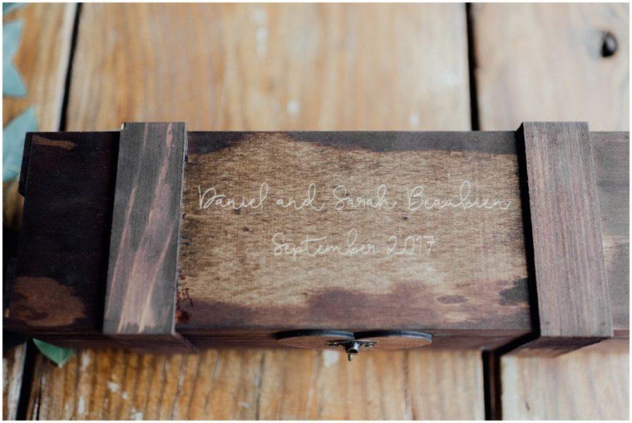wedding wine box