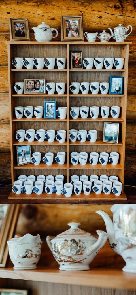 Guest favors, guest favor ideas, wedding coffee cups