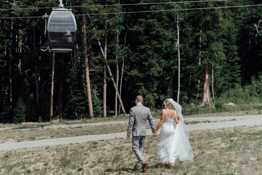 Timber Ridge wedding in summer