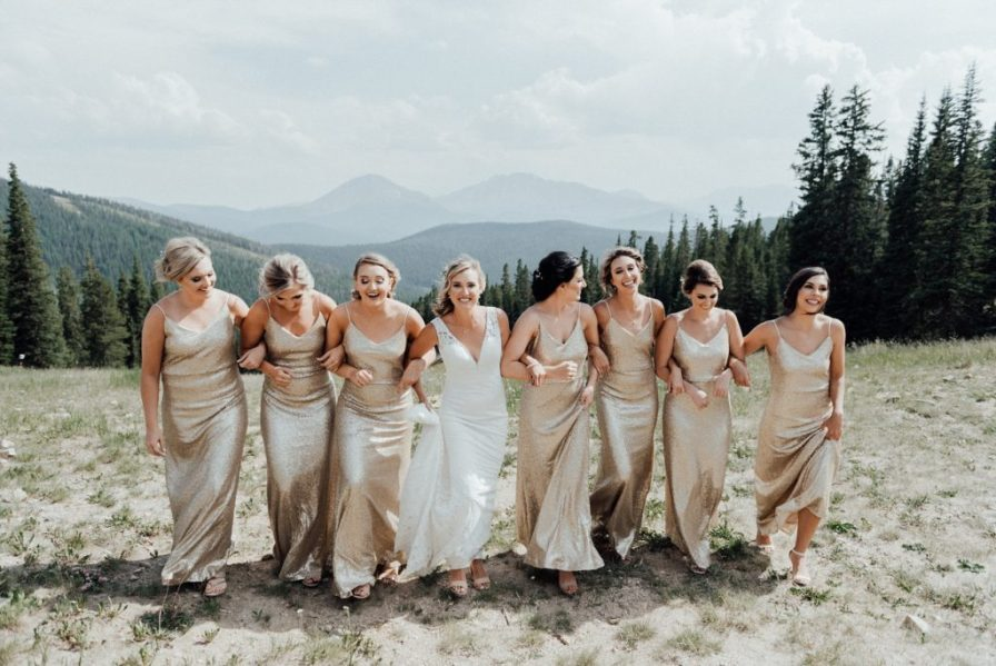 Bride and bridesmaid photo ideas
