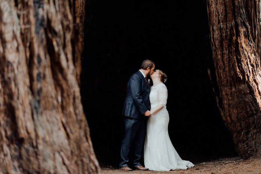 How to have a camping wedding in the Big Basin Redwood State Park
