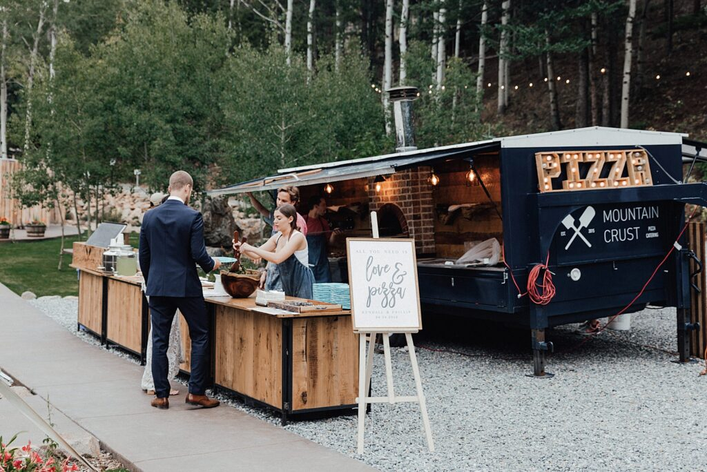 Food truck ideas for weddings