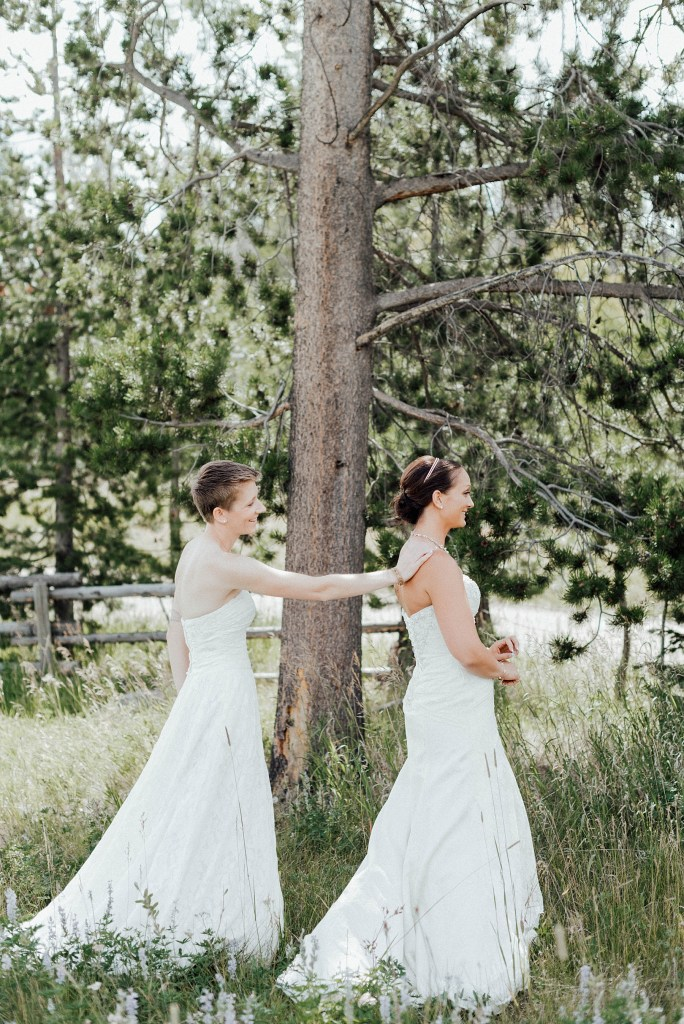 First look for these brides