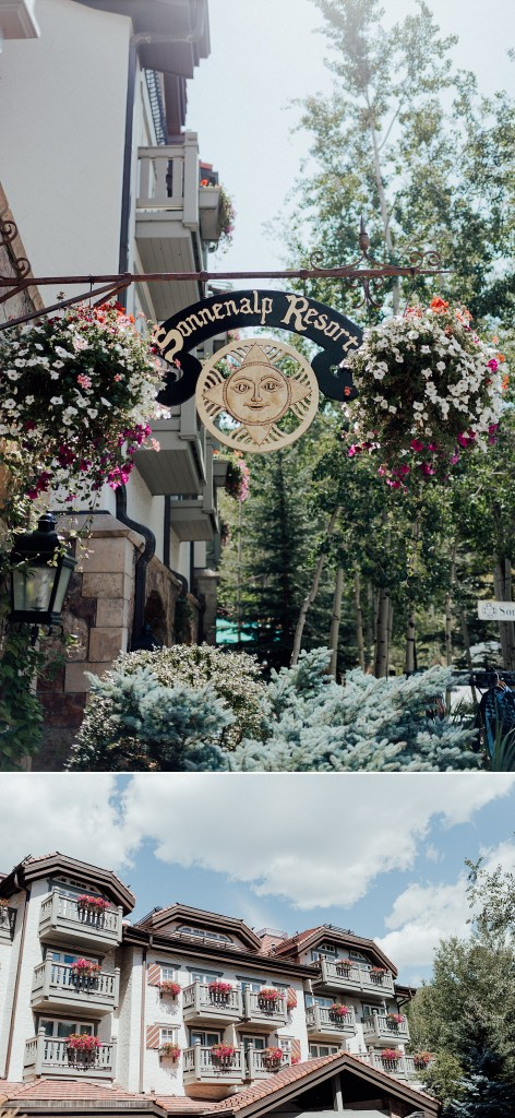 Sonnenalp hotel in Vail, Colorado