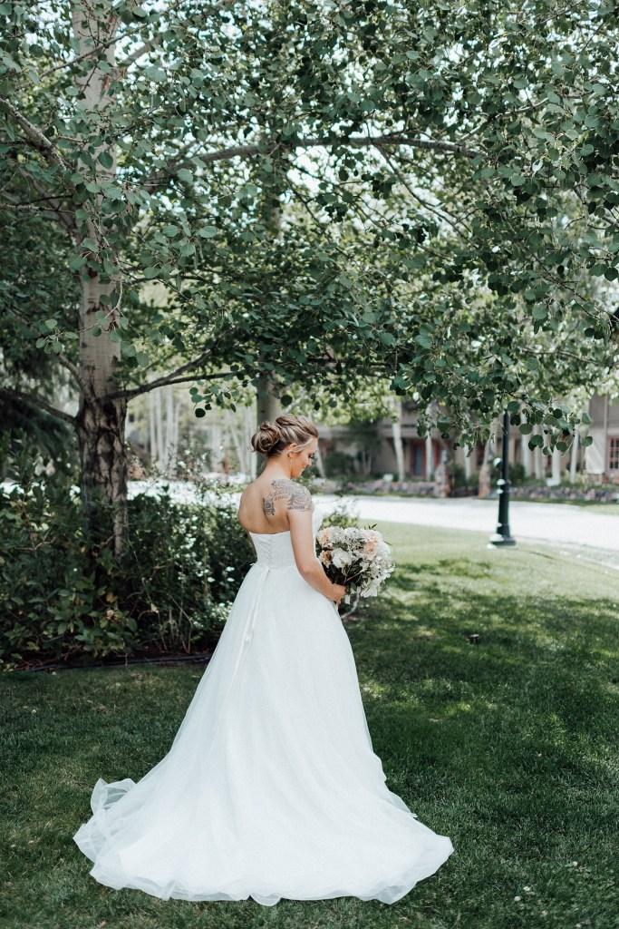 Strapless wedding dress, empire line wedding dress, wedding dress ideas