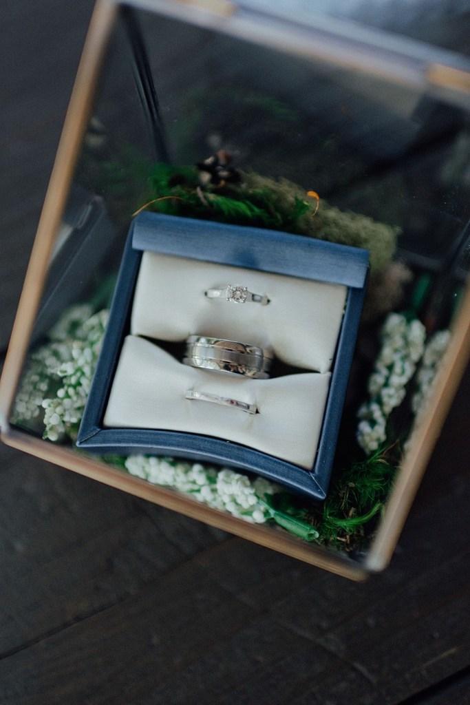 Ring box, boho ring box