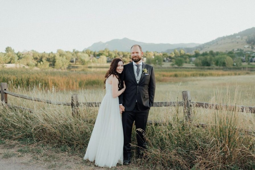 September wedding in Boulder, Colorado