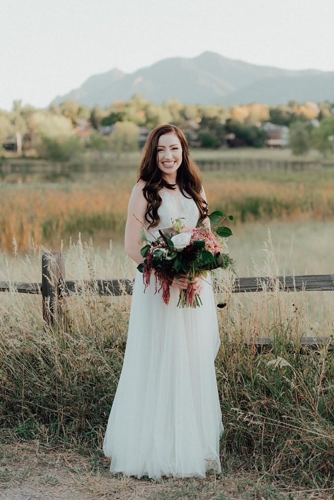 Wedding dress ideas, boho wedding dress, boho wedding bouquet