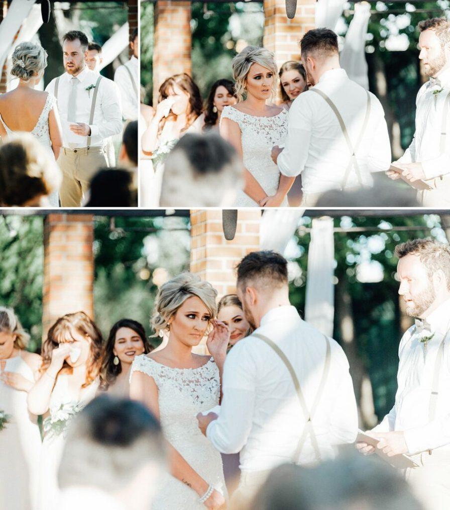 Grooms vows to bride