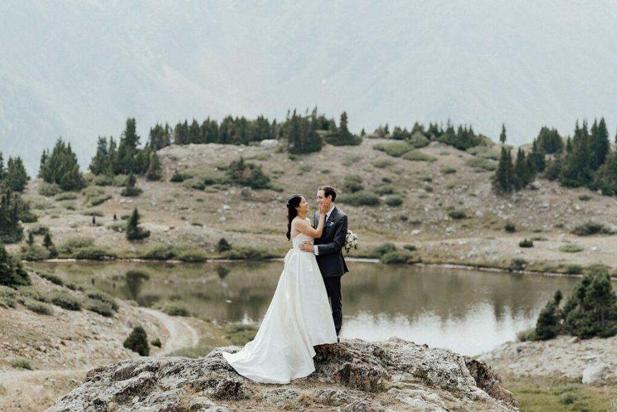 Colorado summer elopement