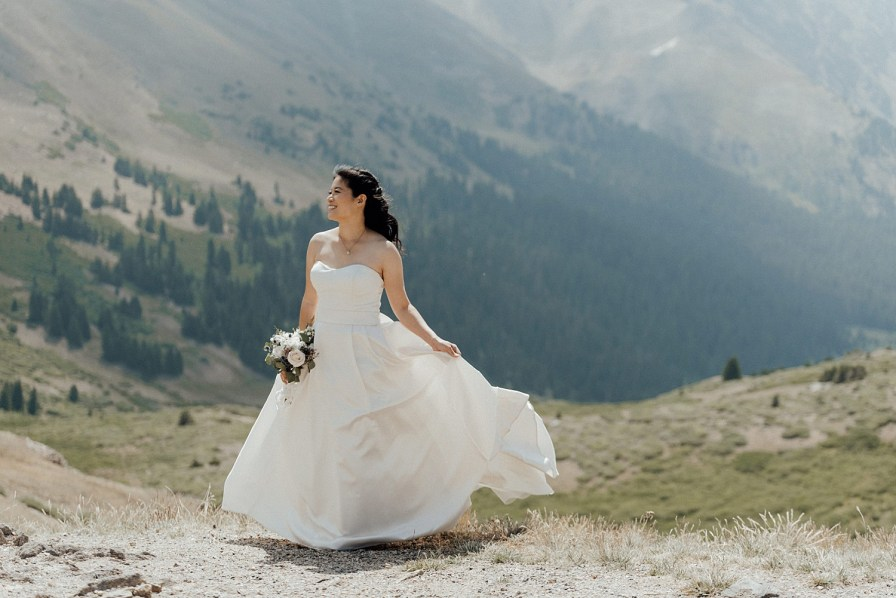 Wedding dress ideas, strapless wedding dress