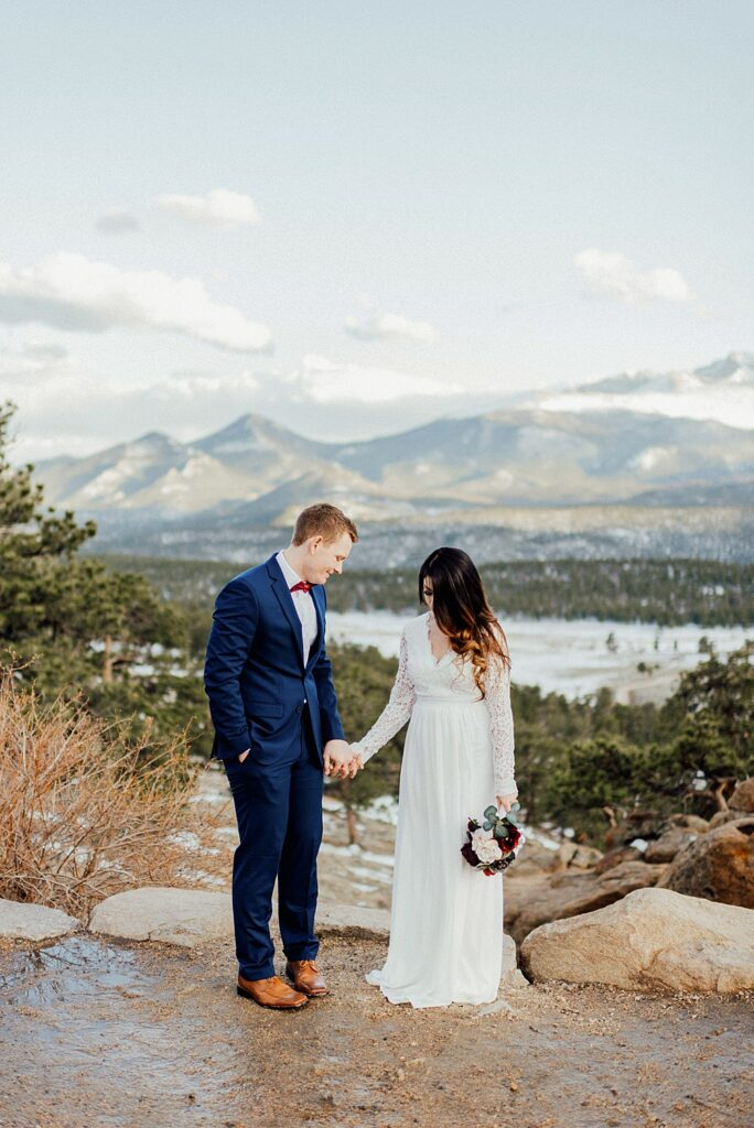 Colorado elopement in May