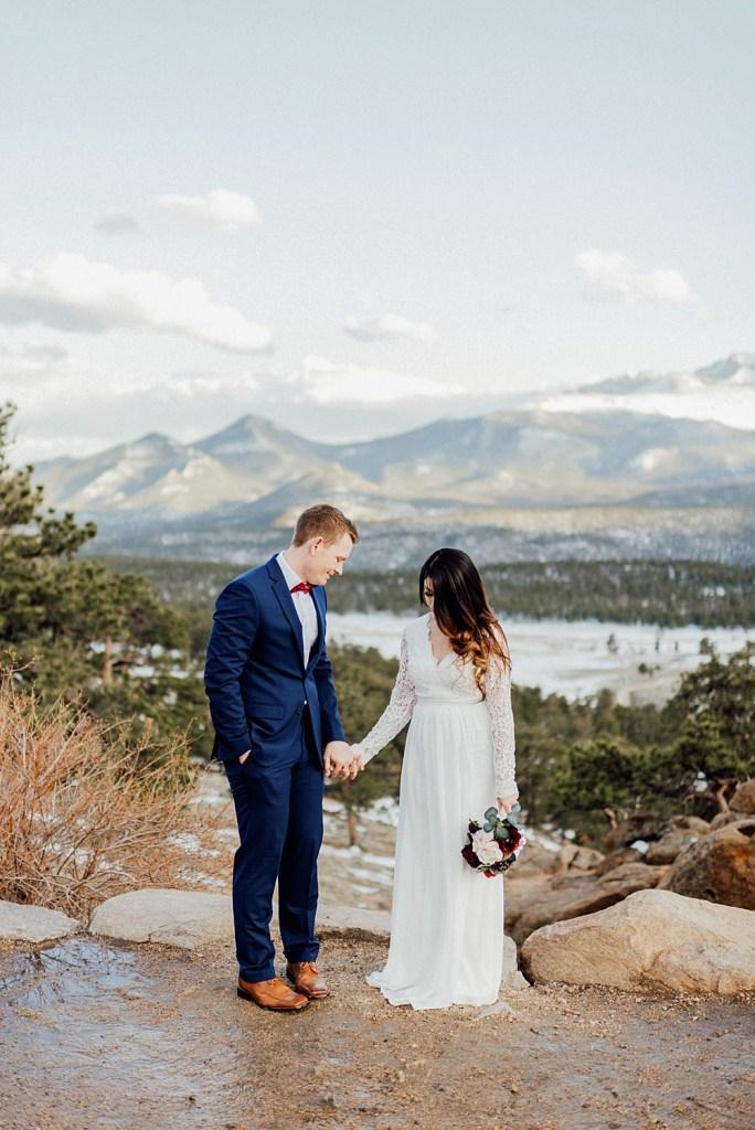 Colorado elopement in May