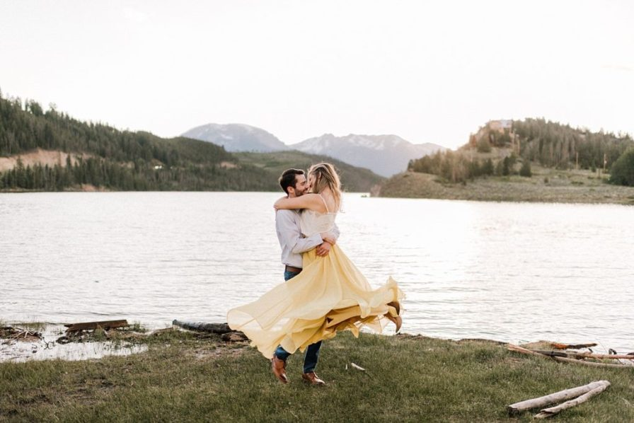 Lake Dillon engagement