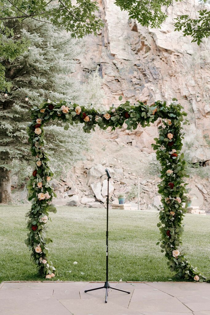 flower arch ideas