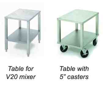 Varimixer | V-Series Planetary Mixer Work Table