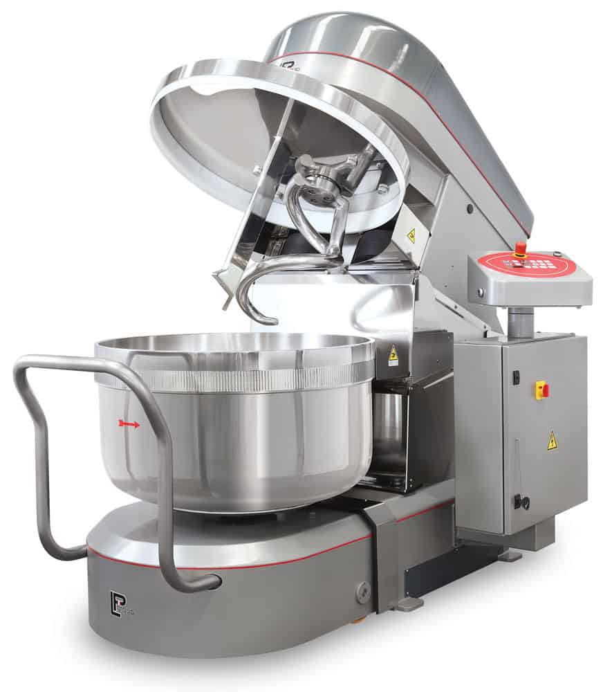 LP Group | LUX-R Reinforced, Removable Bowl Spiral Mixer