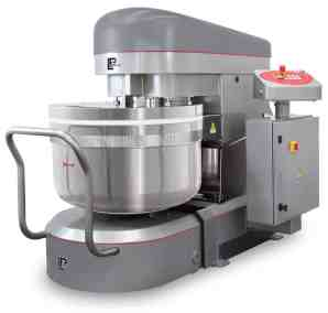 LP Group | LUX-R, Reinforced Removable Bowl Spiral Mixer, Lid Closed