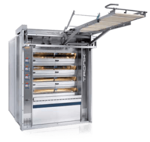 Industrial Electric Deck Oven with Integrated Loader