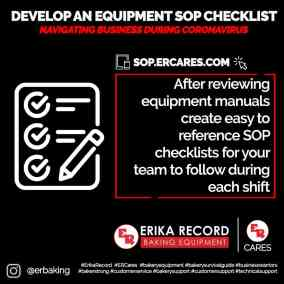 Develop An Equipment Checklist