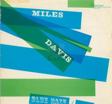 Miles Davis Blue Haze album cover