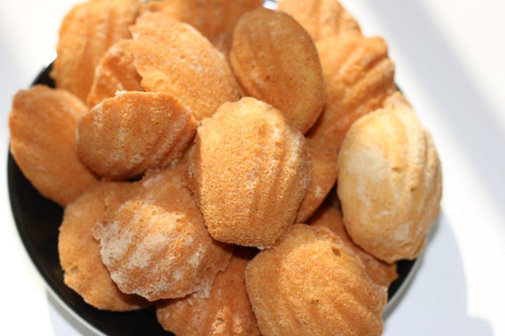 Gluten-free Madelines