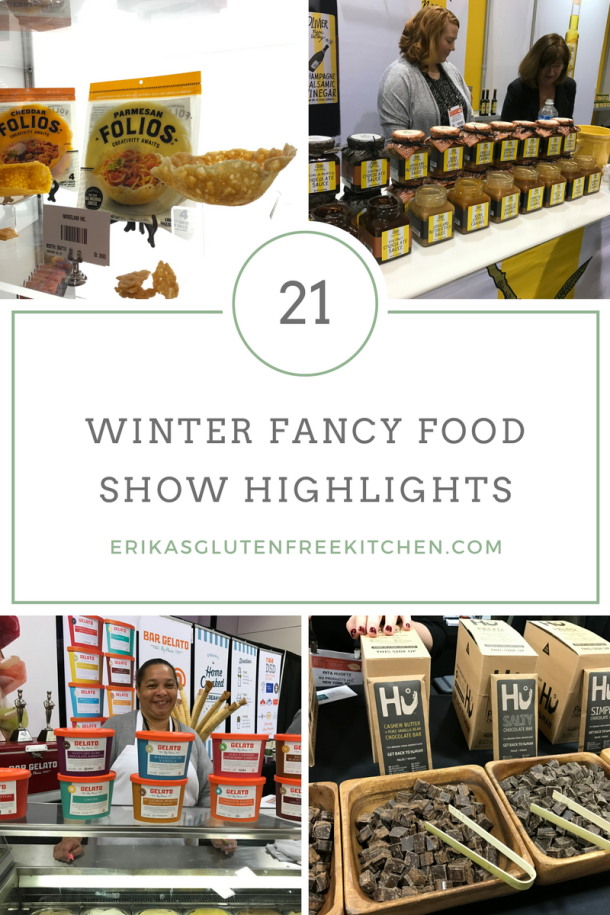 Fancy Food Show 2017 Gluten Free Product Highlights