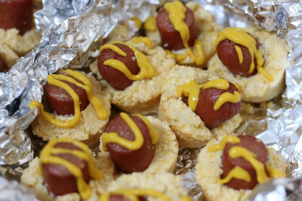 Gluten Free Corn Dog Bites