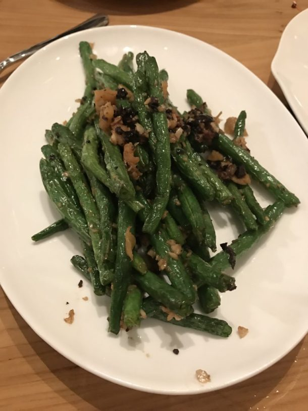 Sichuan Blistered Green Beans at China Live